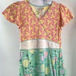 Matilda Jane Pink  Print Short Sleeve Top Size 8